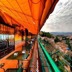 Alhambra Palace Granada Terraza