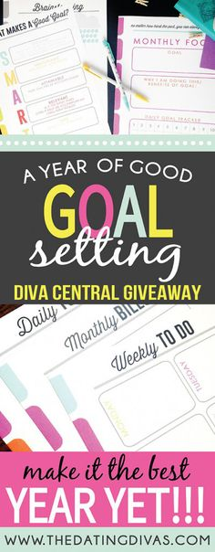 Year of Goals Giveaway
