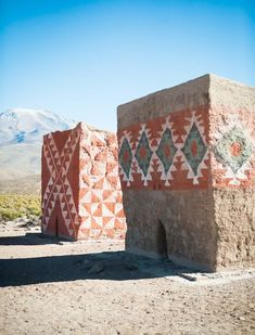 ☆African adobe homes