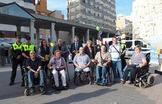 Alfonso Bataller participa en la campaña de sensibilización sobre accesibilidad