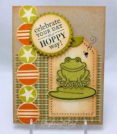 Stephanie - super cute little boy bday card!