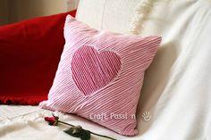 DIY chenille cushion...