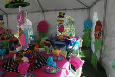 Alice in Wonderland / Mad Hatter Birthday Party Ideas | Photo 13 of 17 | Catch My Party