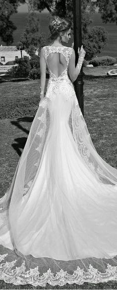 galia lahav heart shape back lace wedding dresses #wedding #dress #dresses