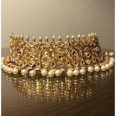 awesome Kundan Pearl Chokar!                                                                                                                                                                                 More