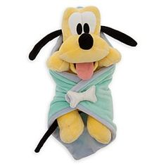 Disney's Babies Pluto Plush Doll and Blanket - 11'' | Disney StoreDisney's Babies Pluto Plush Doll and Blanket - 11'' - Mickey's pal Pluto comes to visit as a perky puppy plush snuggled up inside a super-soft blanket! No bones about it, he's cute!