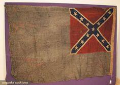 blue confederate flag