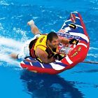 Boating Sportsstuff Bat-X-Ray Doable Towable Water Tube 1 Person Rider 53-1510
