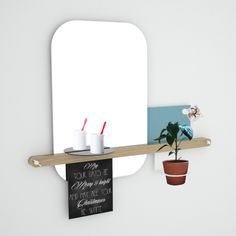 COLLAGE mirror by Michael Remerich (Germany) - WINNER of the Competition Vote for it: http://ex-t.com/vote-your-favourite-project