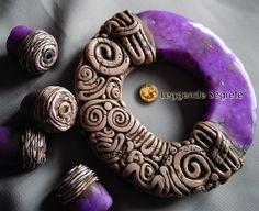 Ancient Purple - by Ilenia Moreni