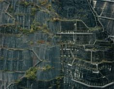 Renowned for his groundbreaking photographs documenting the changes to the natural environment of his native Japan, this exhibition will take particular focus City Grid, Invisible Cities, La Art, Artwork Images, Lost City, Japan Art, Aerial View, Landscape Architecture, City Photo