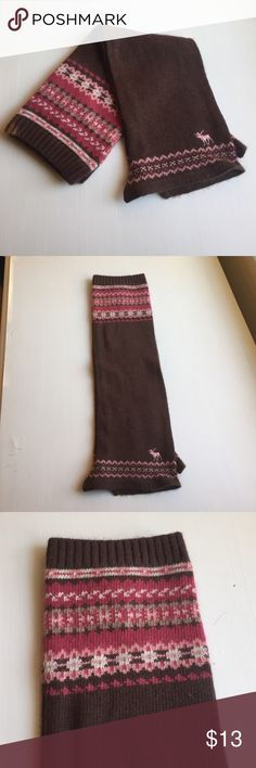 Abercrombie & Fitch brown OTK leg warmers | Leg warmers ...