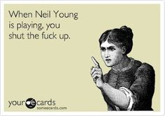 Neil Young News: If You Text During a Neil Young Concert, This Could Be You