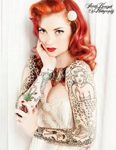 Cherry Dollface - for the leopard print tattoo