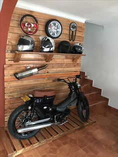 Mad Design, Bike Design, Harley Davidson Motorcycles, Cars And Motorcycles, Custom Bikes, Custom Cars, Tyre Shop, Honda Cub, Honda Bikes