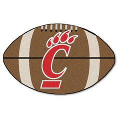 Cincinnati Bearcats NCAA Football Floor Mat (22x35)