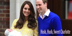 Public coming out of Princess Charlotte Elizabeth Diana