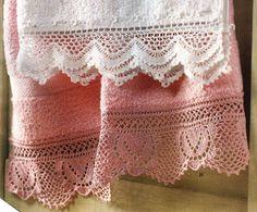 Pretty crochet edgings.