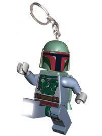Lego Star Wars Boba Fett Keylight Keyring