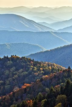 Blue Ridge Mountains - I'll be here in 4 days - can't wait