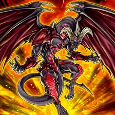 Red demons dragon