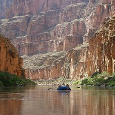 Rafting on the Colorado River in the Grand Canyon, AZ