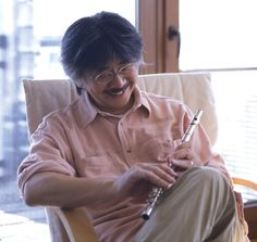 Nobuo Uematsu - amazing musician - the tour de force behind most of the Final Fantasy games. Amazing - he's amazing. Did I mention he's amazing? He's really fucking amazing!!!!
