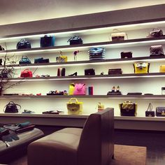 SS13 bags at our Mercer St. store, via misterwebb