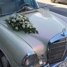 Στολισμός αυτοκινήτου Wedding Car, Greece, Flowers, Decor, Greece Country, Decoration, Decorating, Royal Icing Flowers, Flower
