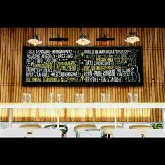 Chalkboard @fidel_bar Sopot. #chalkboard #chalk #chalklettering #lettering…