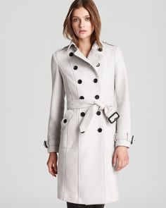Burberry London Trench Coat - Selbridge Wool - Designer Shop: Paradox - Bloomingdale's