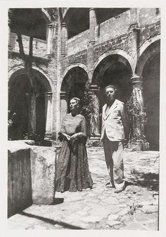 Frida Kahlo and Andre Breton