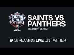 Twitter's live video app comes to Android TV Live Video App, Thursday Night Football, Saints Vs, Facebook Video, Favorite Quotes, Social Media, Messages, Shit Happens, Twitter