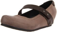 Go for all-out adorable in the OTBT Salem slip-on. This women's mary jane has a supple leather upper with an contrast-colored adjustable instep strap. The EVA midsole and faux leather lining create a comfortable interior. The OTBT Salem casual shoe is finished with a rubber sole to absorb shock and provide sure traction.