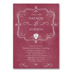 Celebrate the fine establishment you've created. Invite guests to your vow renewal with this distinguished crest invitation in your choice of colors. Vow Renewal Invitations, Discount Wedding Invitations, Wedding Anniversary Invitations, Creative Wedding Invitations, Wedding Vows, Bridal Shower Invitations, Marriage Announcement, Wedding Announcements, Marriage Vows