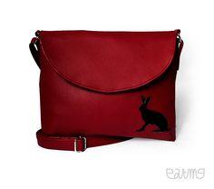 Special one for Eva #rabbit #zajíc #bordo #vínová #červená #handbag #kabelka #eatmefashion Heart Of Europe, Bag Accessories, Messenger Bag, Satchel, Bags, Handbags, Crossbody Bag, Bag, Backpacking