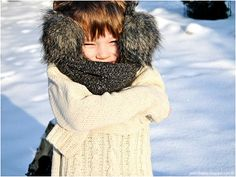 Sweater with plaits for 4 year-old boy. Yarn: acrylic and cotton (50/50) J.J. & The Bear: white wild winter