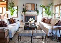 English Cottage Living Room traditional-living-room