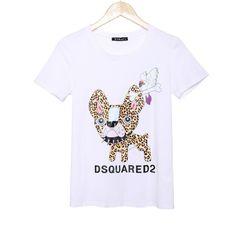 2016 Fashion brand t shirt women printed t-shirt summer short sleeve causal punk rock plus size tees t-shirts women woman tops