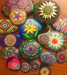 A variety of unique,colorful and beautiful stone designs!!