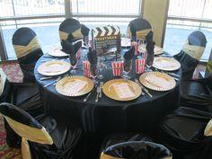 Hollywood themed event decor
