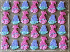 Character Cookies - Trolls