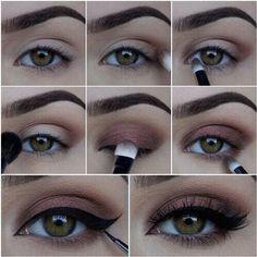 Terracota Eye Makeup