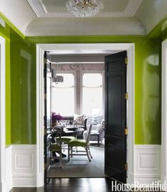 13 Glamorous Green Interiors To Fill You With Envy