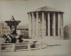 Tempio di Vesta 1880