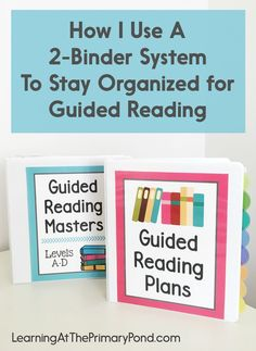 This is the ONLY guided reading organization system that really works for me! I finally have all of my materials organized.
