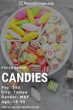 Focus Group on Candies in Tampa