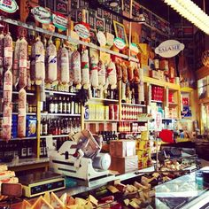 Molinari delicatessen on Columbus ave