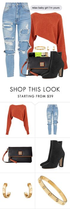 """02/22/2018"" by theresaaaaaaa ❤ liked on Polyvore featuring Crea Concept, Dooney & Bourke and Cartier"
