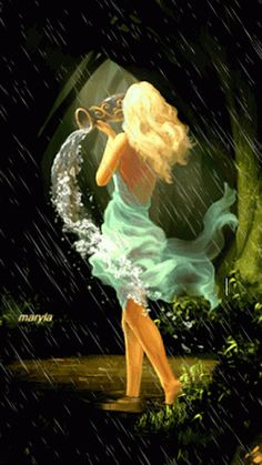 One can find so many pains when the rain is falling. ~John Steinbeck